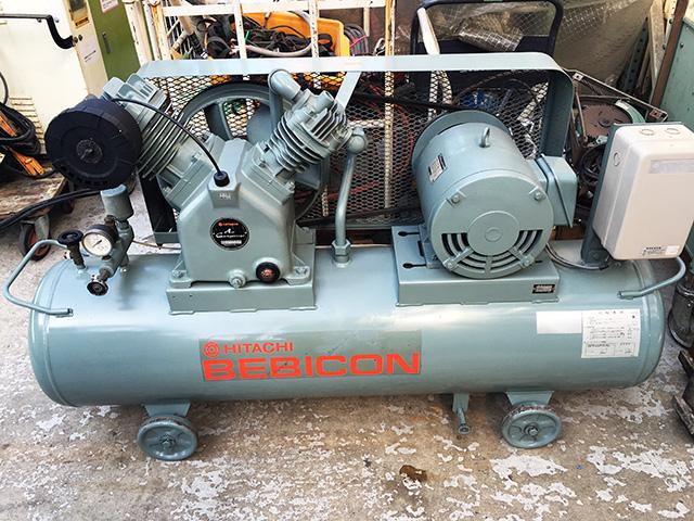 bin170321160519002 工場用コンプレッサーの買取