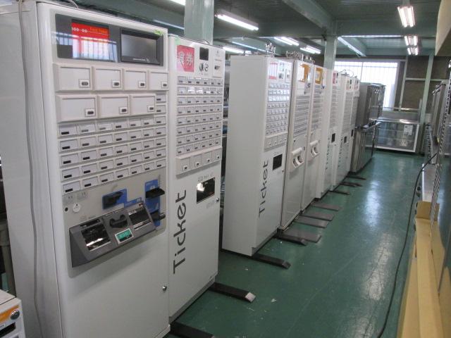 岐阜県で券売機を買取