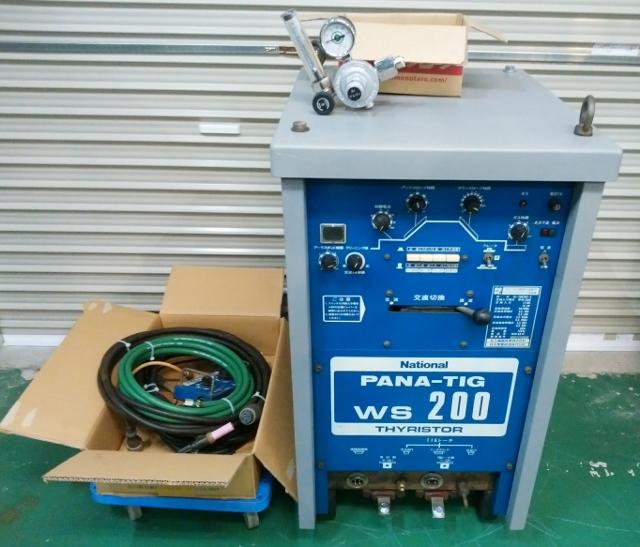 ナショナル パナソニック ダイデン ダイヘン  交直両用TIG溶接機 200A  500A