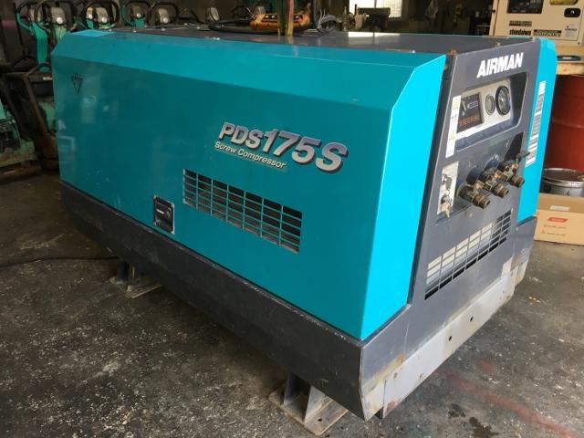 bin170927183713002 工場用コンプレッサーの買取
