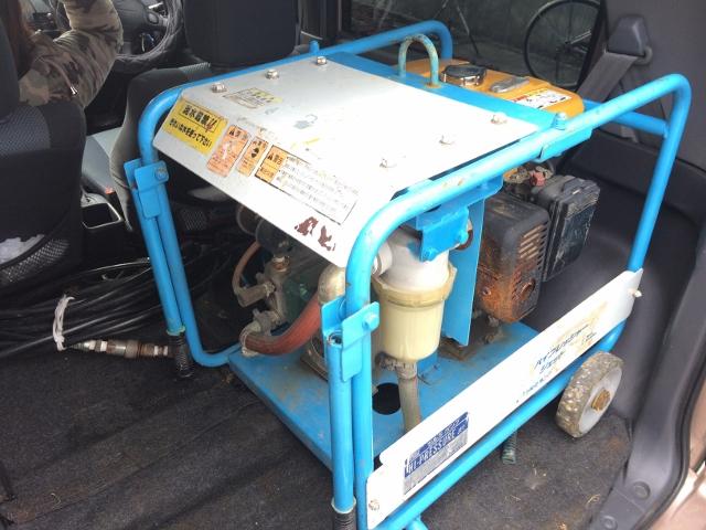 鶴見製作所 ツルミポンプ   高圧洗浄用ジェットポンプ エンジンタイプ HPJ-E型 ハイウォッシャ 洗浄機 HPJ-680E4