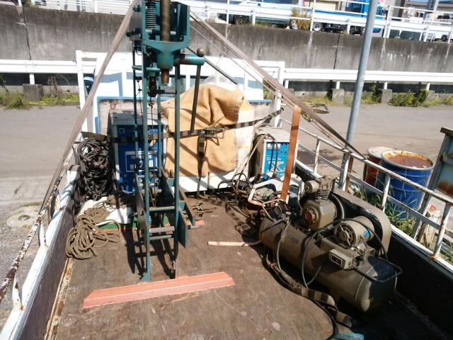 タクボ パナソニック 日立 キラ  油圧プレス 溶接機 ボール盤 鉄工所一式