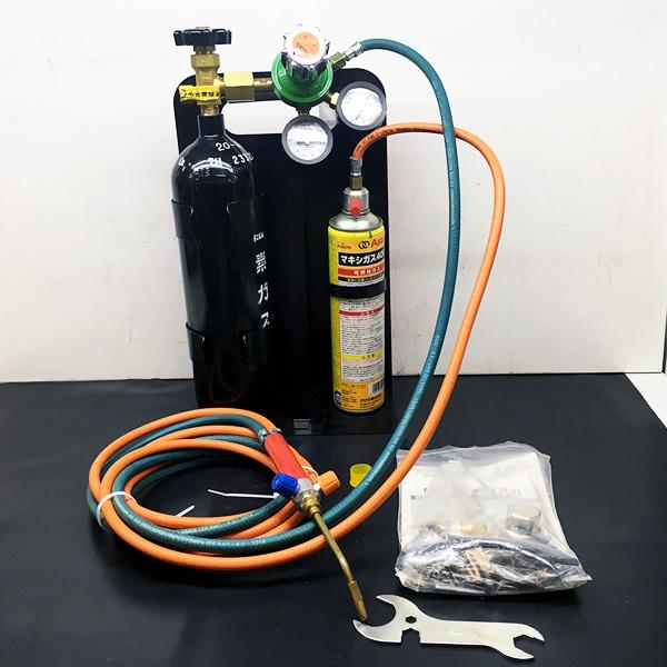 アサダ ASADA   携帯ガス溶接器  ロキシー400Lキット