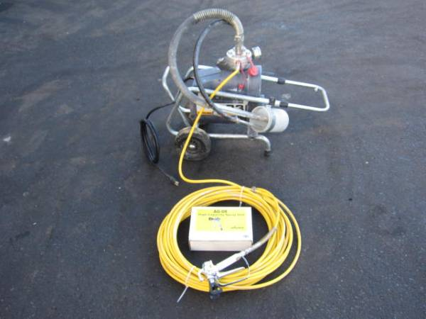 ワグナー 電動式ダイアフラム エアレス塗装機 SF23