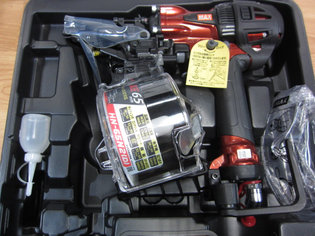 MAX 釘打機スーパーネイラ HN-65N2[D]-R