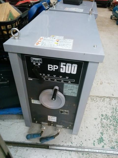 ダイヘン 500A 交流アーク溶接機 BPx-500-1/2009年製