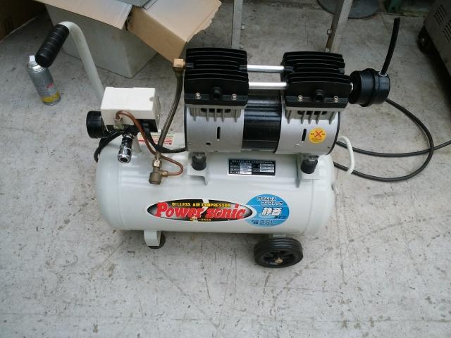 bin180105180007002 工場用コンプレッサーの買取