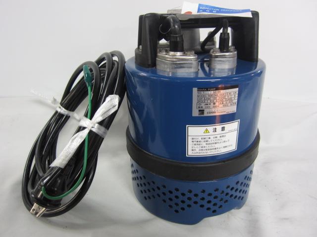 エバラ 電極式自動形 水中ポンプ 50EZA5.45S