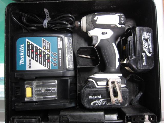 マキタ 充電式インパクトドライバ TD147DRMXW