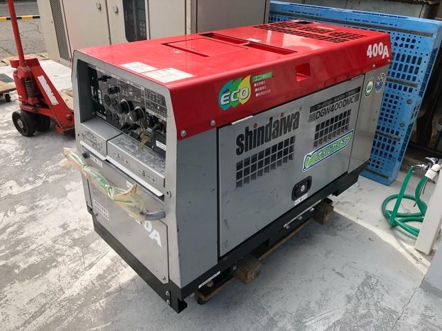 新ダイワ 防音型ディーゼルエンジン溶接機 DGW-400DMC