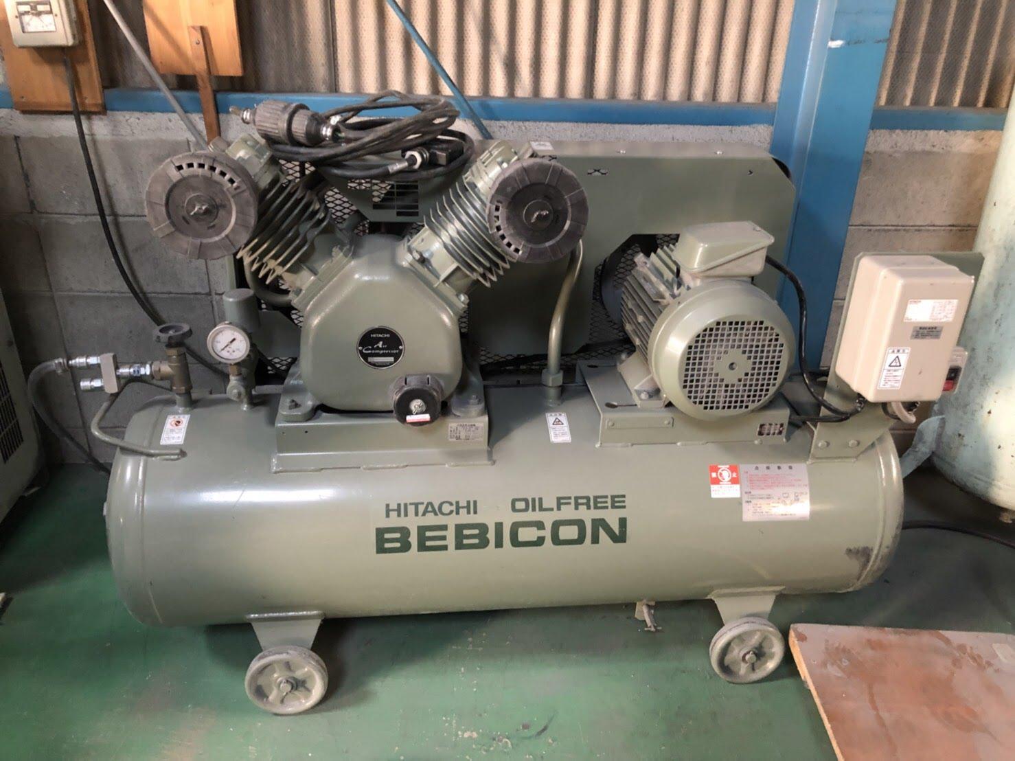 bin180324172517002 工場用コンプレッサーの買取