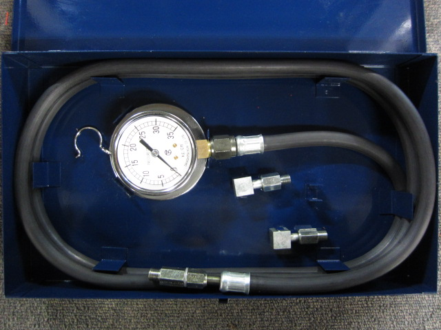 高島計器 プレッシャーゲージ 0〜35kg/cm2