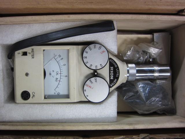 リオン株式会社 アナログ普通騒音計 S-1号