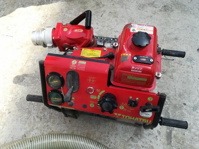 トーハツ 可搬消防ポンプ V25A