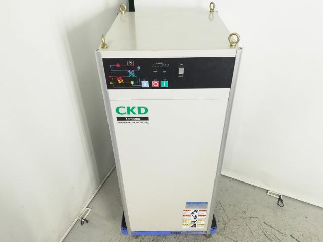 CKD 15馬力 11kW 中圧コンプレッサー対応冷凍式エアドライヤー 単相200V電源 高温入気対応 GX5011