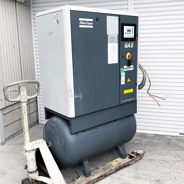 bin180607171920002 工場用コンプレッサーの買取