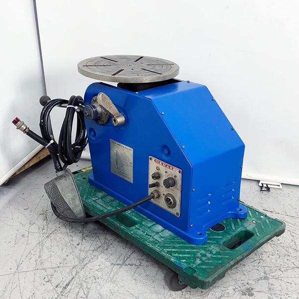マツモト機械 MAC 小型ポジショナー 溶接用回転台 PS1A-5