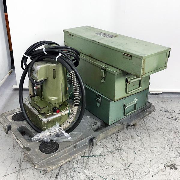 カクタス 産機興業 電動小型油圧ポンプ+先端工具3点セット SEP-18D