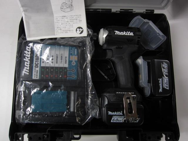 マキタ  充電式インパクトドライバ TD161DRGXB