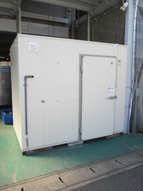 日立(ユニット部) 1,5坪プレハブ型冷蔵庫 RU-R15MF1