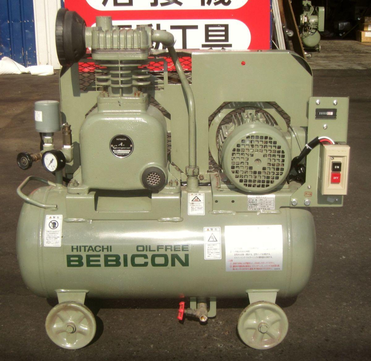 bin180907132232002 工場用コンプレッサーの買取