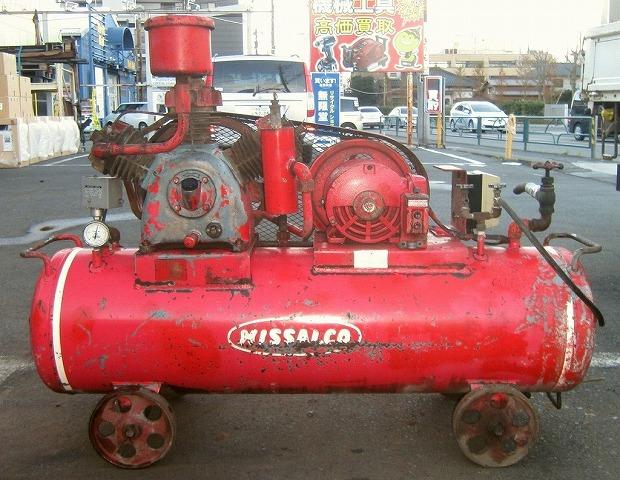 bin181205112720002 工場用コンプレッサーの買取