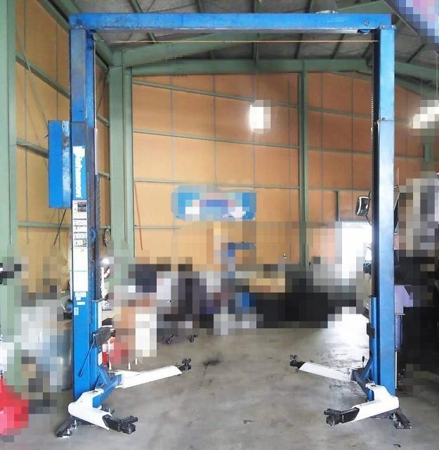 3t 3000kg揚げ門型リフト イヤサカ/ビシャモン 車整備用リフト WOSA30