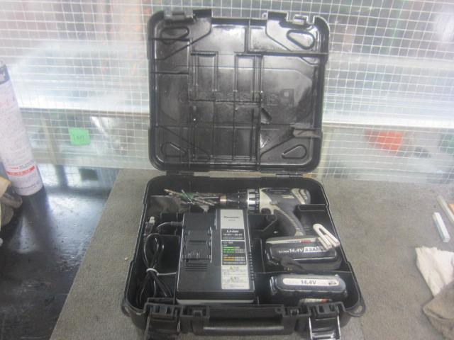 パナソニック 充電ドリルドライバー EZ7441LR2S-H