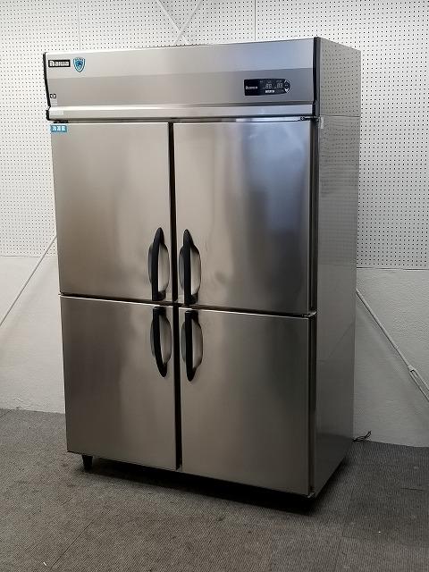 大和冷機 縦型冷凍冷蔵庫 413YS1-EC