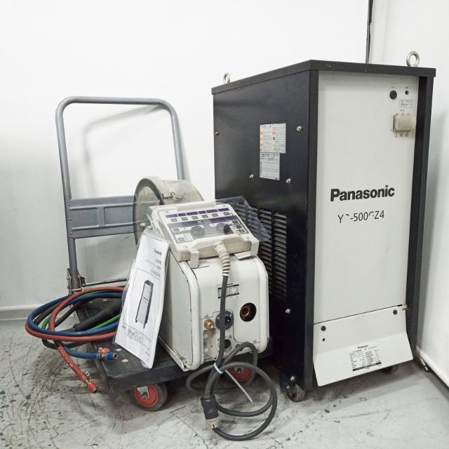 パナソニック Panasonic 500A インバータ式MIG半自動溶接機 フルデジタル アルミ溶接 YD-500GZ4TAN