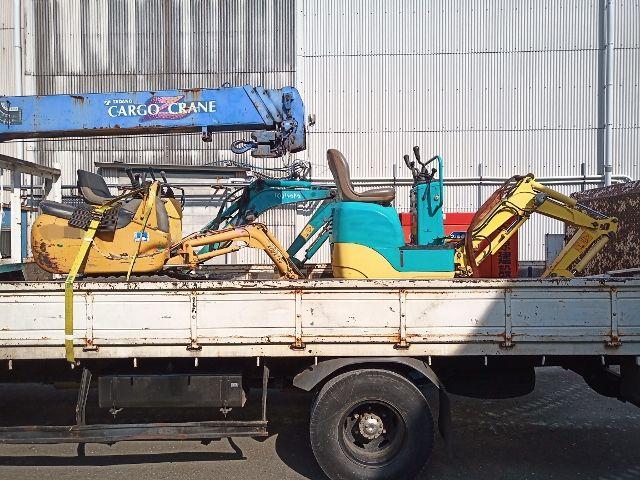 【静岡】バックホー ユンボ パワーショベル 油圧ショベル PC01-1A SV05 U-10-3