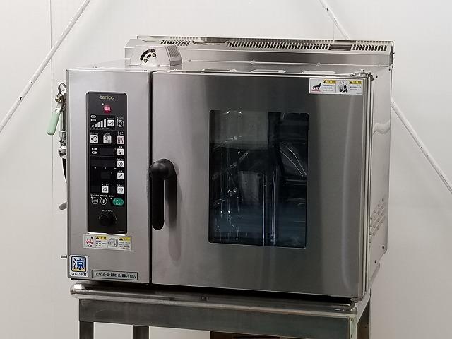 タニコー タニコー ガス式スチームコンベクションオーブン TSCO-4GBC 都市ガス 2018年製  TSCO-4GBC