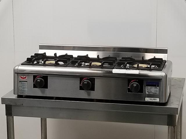 マルゼン マルゼン 卓上3口ガスコンロ M-823E プロパンガス 2015年製 M-823E