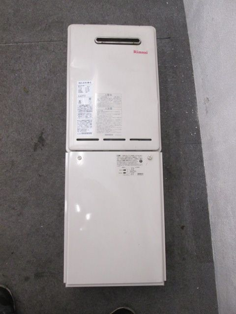 リンナイ リンナイ 屋外壁掛型ガス給湯器 RUX-A1610W-E 2013年製 RUX-A1610W-E