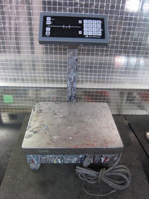 ロックペイント 電気抵抗線式はかり 099-0012
