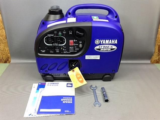 ヤマハ YAMAHA  900VAポータブルインバーター発電機 EF900is
