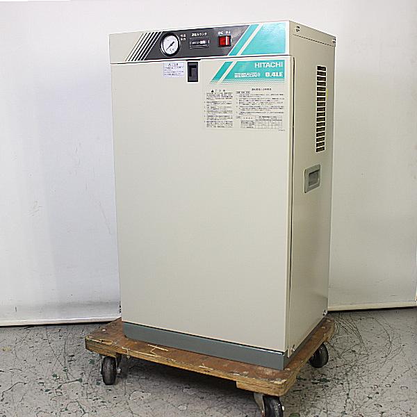 日立産機/HITACHI  1/2馬力オイルフリーパッケージコンプレッサー PO-0.4LES