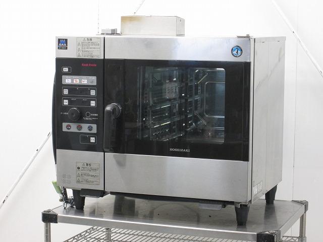 ホシザキ ホシザキ ガス式スチームコンベクションオーブン MIC-5TB-GA 都市ガス 2013年製 MIC-5TB-GA