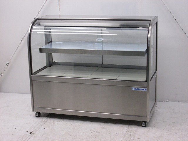 大穂製作所 大穂製作所 対面冷蔵ショーケース(後ろ引戸タイプ) OHGU-S-1200B 2012年製 OHGU-S-1200B