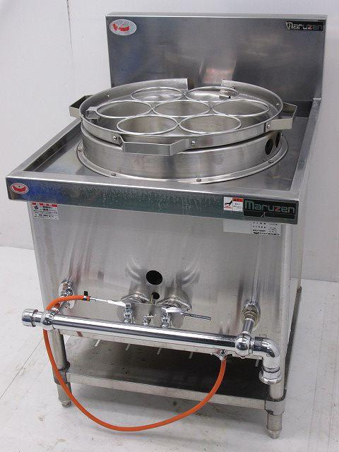 マルゼン マルゼン ガスゆで麺機 MRS-171B プロパンガス 2012年製 MRS-171B