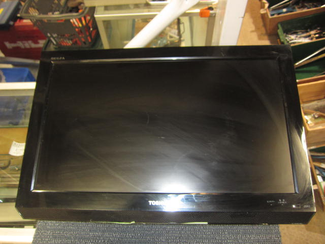 東芝 壁掛け22インチテレビ買取しました!