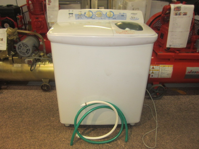 日立5kg 2槽式洗濯機PS50-AS-W