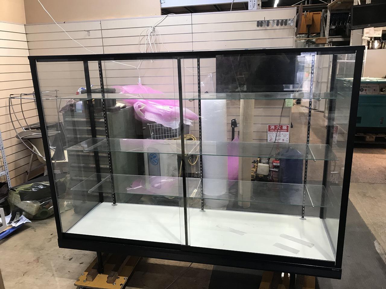 日本アルミ ガラスケース SS3買取しました!