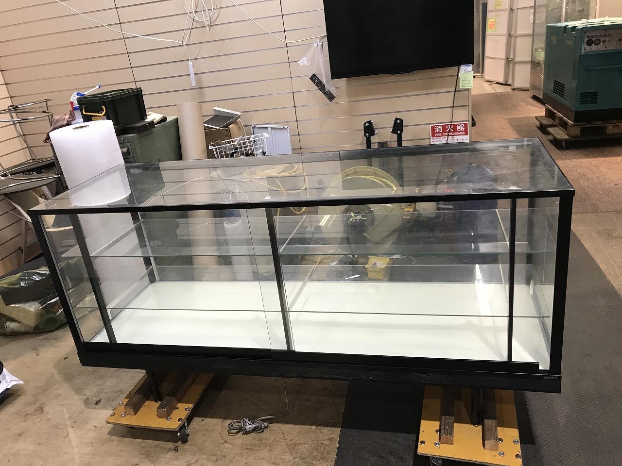 日本アルミ ガラスケースVV1買取しました!