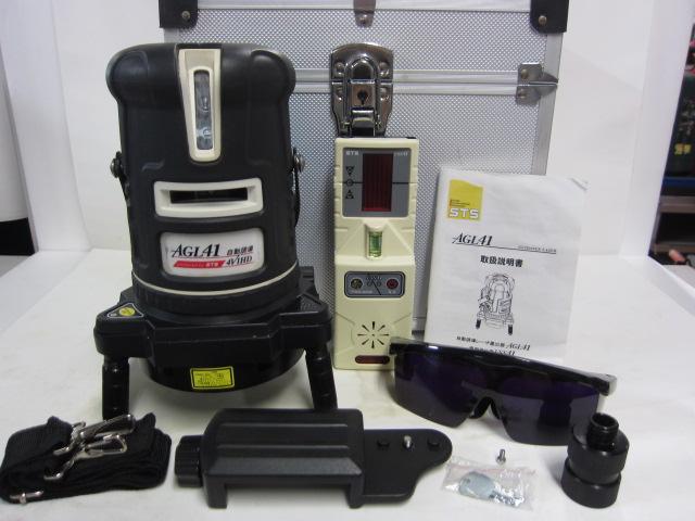 STS株式会社  自動誘導レーザー墨出器AGL41 専用受光器USS41買取しました!