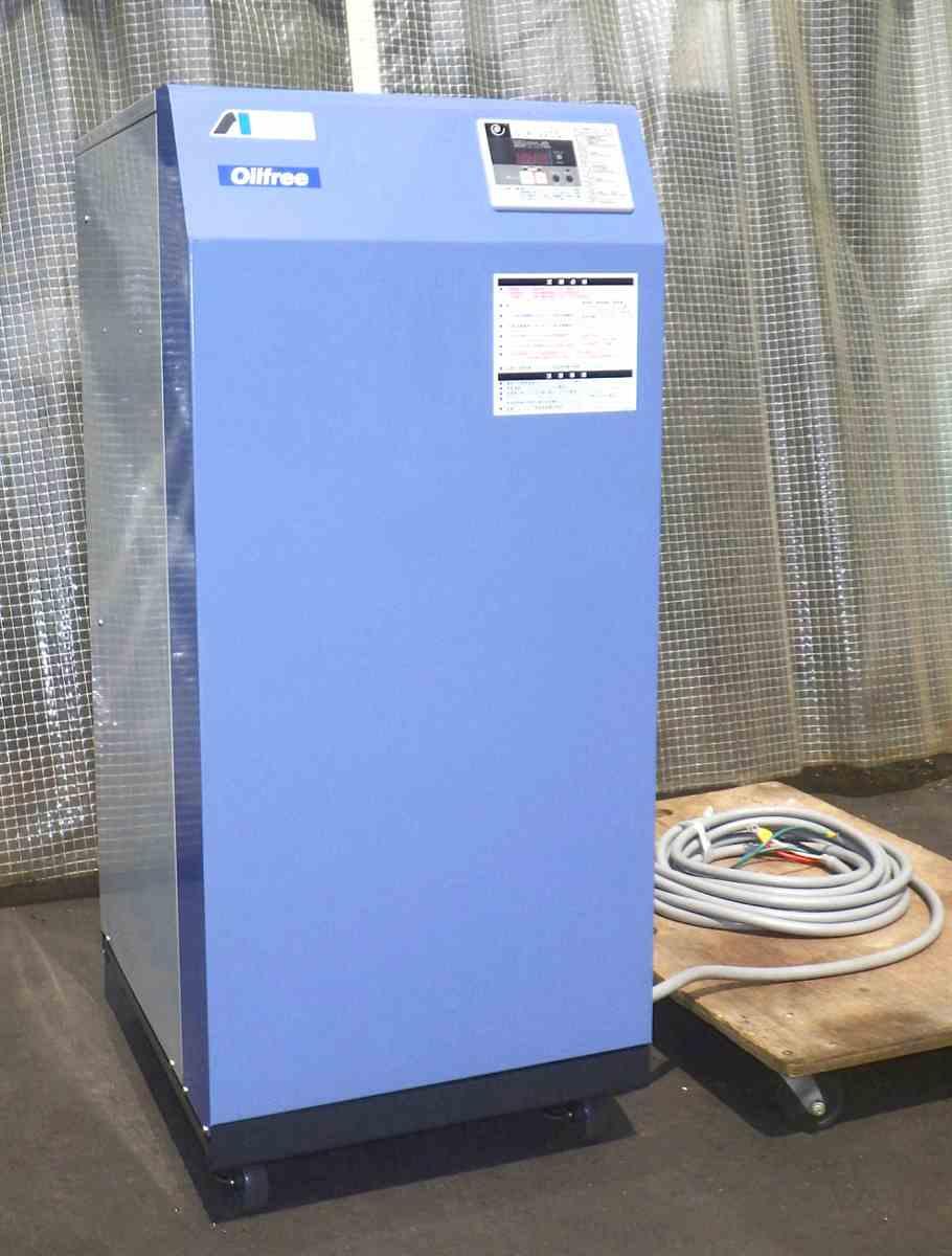 3馬力 アネスト岩田 パッケージコンプレッサー/エアーコンプレッサー [大人気 静音/オイルフリー/ドライヤー付] SLP-22CD 60Hz買取しました!