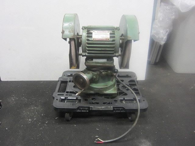 日立 hitachi INDUCTION MOTOR TYPE TO 三相200V 両頭グラインダー 250mm 研削 研磨 砥石買取しました!