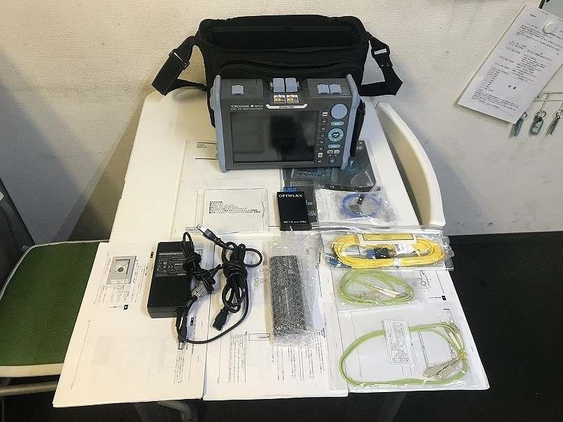 YOKOGAWA/横河 AQ7270シリーズ 光パルス試験器 AQ7275 型名735041 ダミーファイバ付 2-port MM850/1300nm sm1310/1500nm 対応 初期不良保証買取しました!