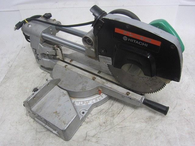 【中古品】日立 HITACHI 216mm卓上スライド丸のこ C8FB 押切 超硬 丸ノコ 丸鋸 マルノコ 木工 電動工具 DIY買取しました!