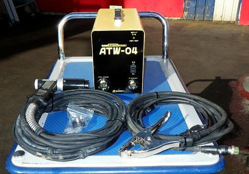 [100V] 巻付け耐火被覆工事対応溶接機/ATウェルダー溶接機 TILEMENT ATS-434[本体ATW-04/ATG-34] TWシステム溶接機 タイルメント 塗装対応 保温耐火被覆専用買取しました!